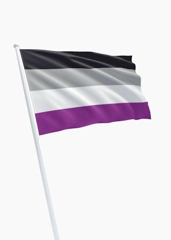 A-sexual vlag