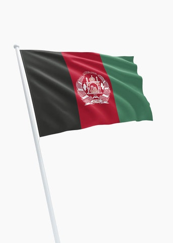 Afghaanse vlag huren