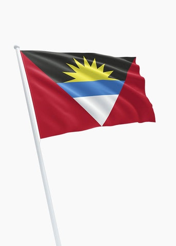 Antigua and Barbuda vlag huren