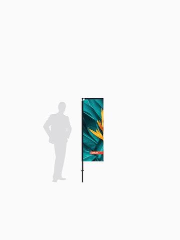 Beachflag MAX - indoor