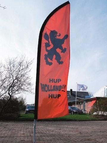 Beachflag Hup Holland