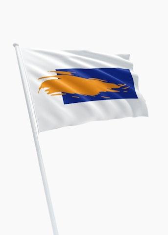 Vlag gemeente Bergen Noord Holland
