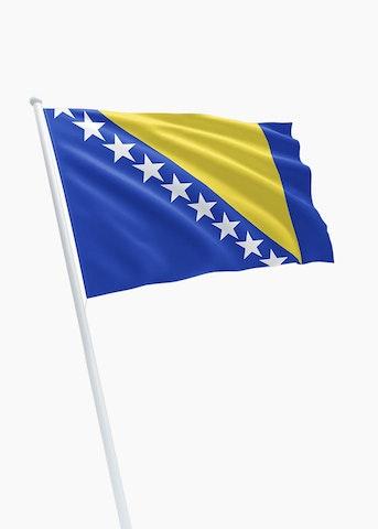 Bosnische vlag huren