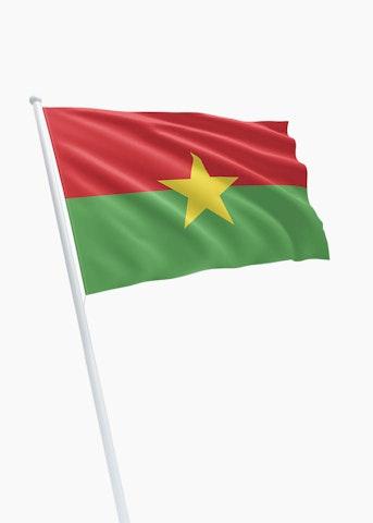 Burkinese vlag huren