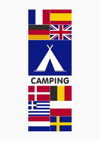 Camping vlaggen