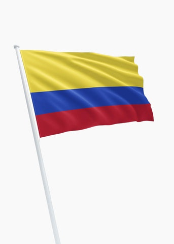 Colombiaanse vlag huren