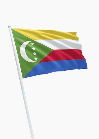 Comorese vlag huren