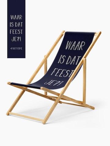 Strandstoel Geslaagd