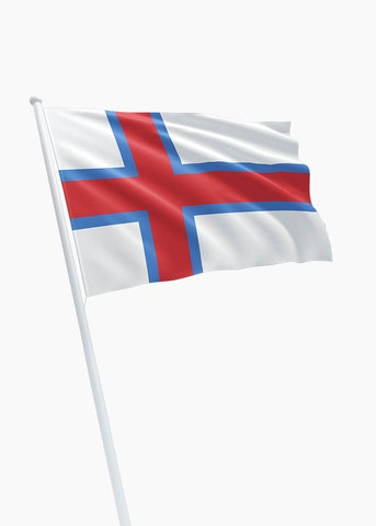 Faeröer eilanden vlag