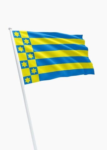 Vlag gemeente Ferwerderadeel
