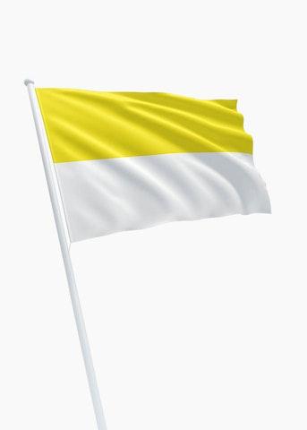 Geel witte vlag