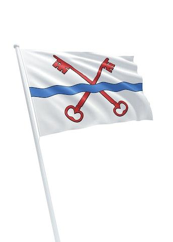 Vlag gemeente Leiderdorp