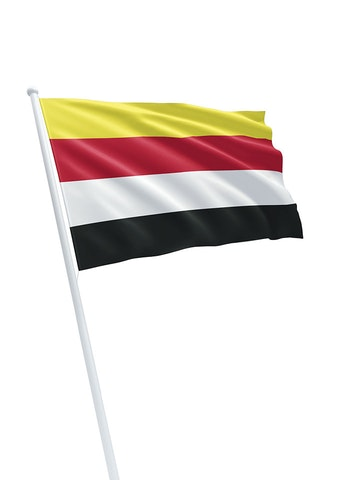 Vlag gemeente Millingen aan de Rijn