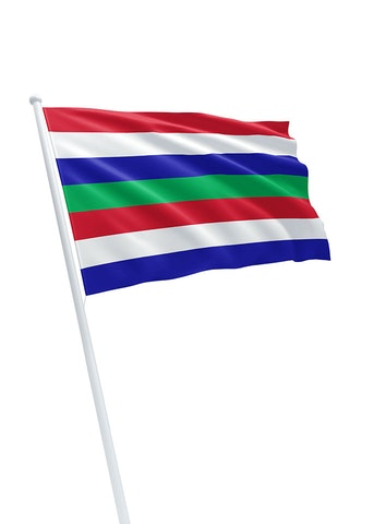 Vlag gemeente Schiermonnikoog