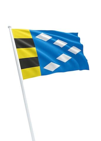 Vlag gemeente Súdwest Fryslân