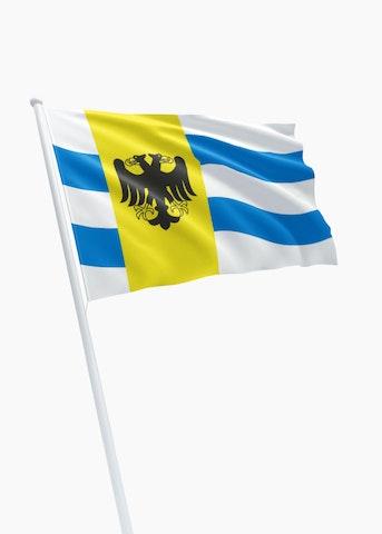 Vlag gemeente West Maas en Waal