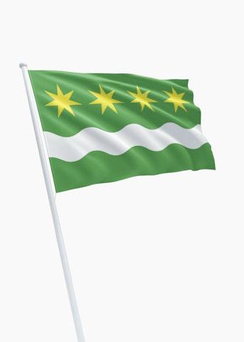 Vlag gemeente Winsum