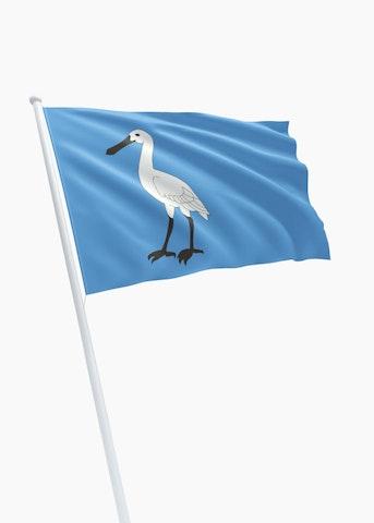 Vlag gemeente Wormerland