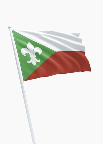 Vlag gemeente Zundert