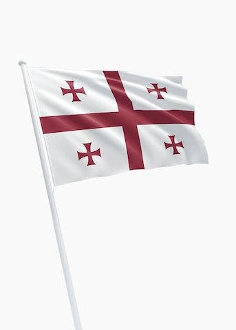 Georgische vlag huren