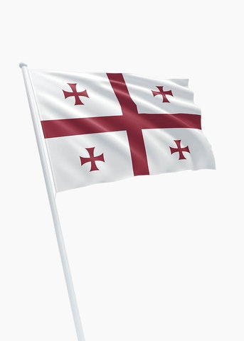 Georgische vlag
