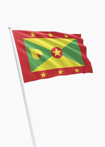 Grenadiaanse vlag huren