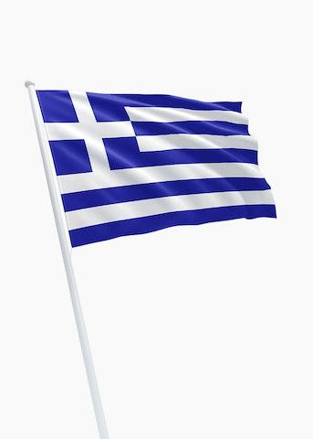 Griekse vlag huren