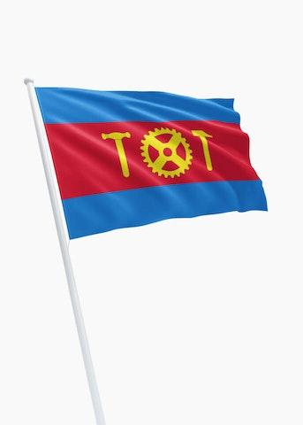 Vlag gemeente Hoogezand-Sappemeer
