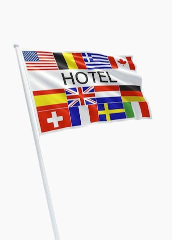 Hotel vlaggen