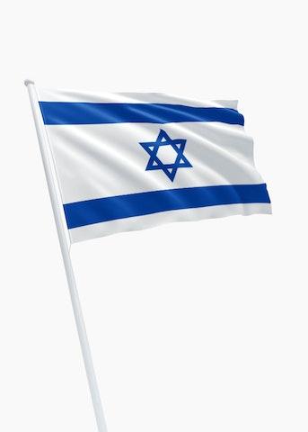 Israëlische vlag huren