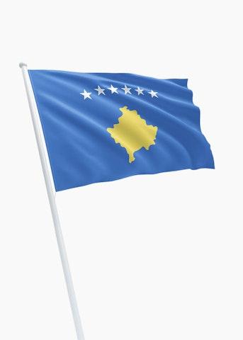 Kosovaarse vlag
