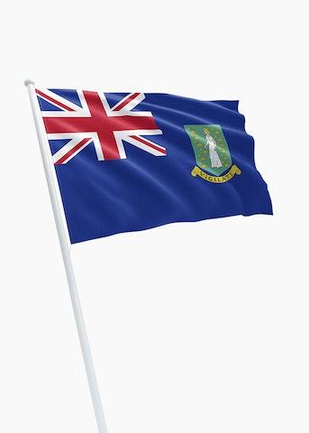 Britse Maagdeneilanden vlag