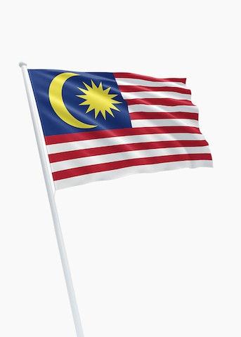 Maleisische vlag huren