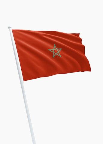Marokkaanse vlag huren