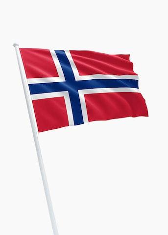 Noorse vlag huren