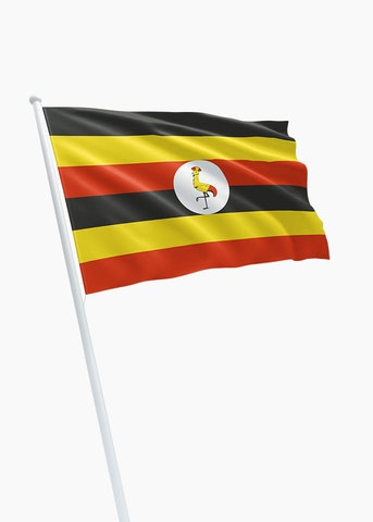 Oegandese vlag huren