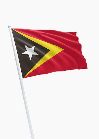 Oost-Timorese vlag huren