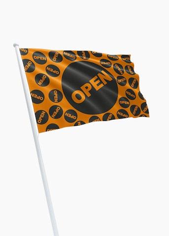 Open vlag