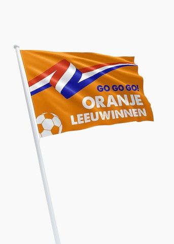 Oranje Leeuwinnen vlag