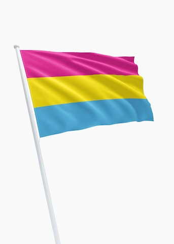 Pan-sexual vlag