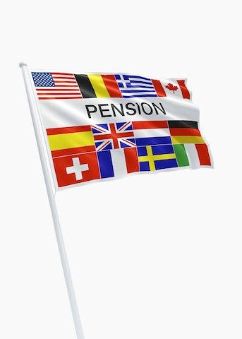 Pension vlag
