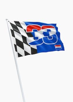 Race vlag 33