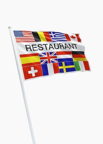 Restaurant vlaggen