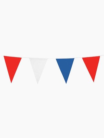 Rood-wit-blauwe vlaggenlijn