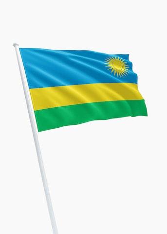 Rwandese vlag huren