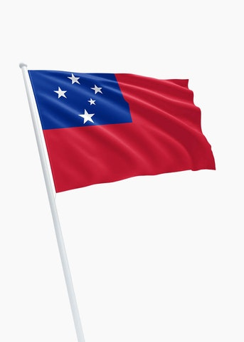 Samoaanse vlag huren