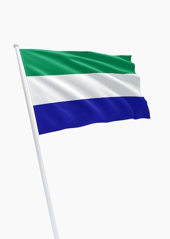 Sierra Leonese vlag huren
