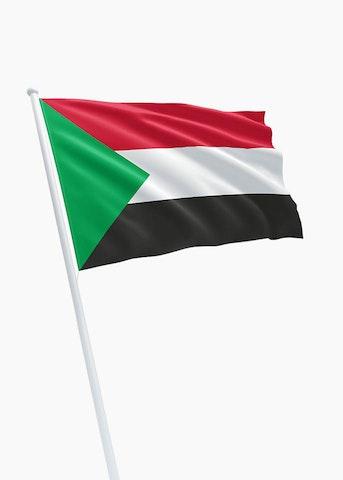 Soedanese vlag huren