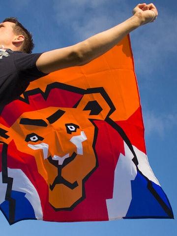 Supporterscape oranje