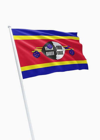 Swazische vlag huren